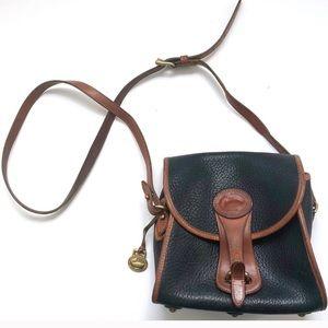 Vintage Dooney & Burke Leather Crossbody Bag Purse